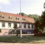 Jesper Swedberg, Bischof von Skara ab 1703 im Haus in Brunsbo